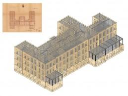 studio altin – modellazione edificio per la verifica sismica